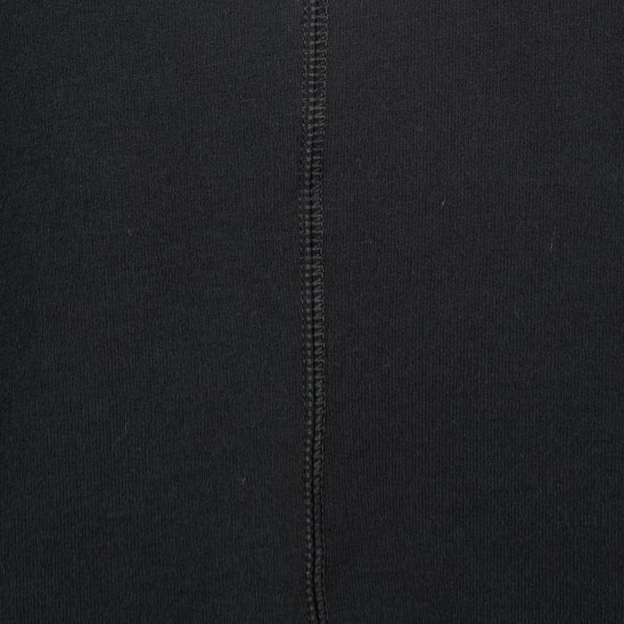 Veste 500 capuche Gym Stretching noir homme - 1338971