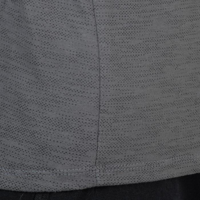 T-Shirt 520 slim col V Gym & Pilates homme printé - 1338980
