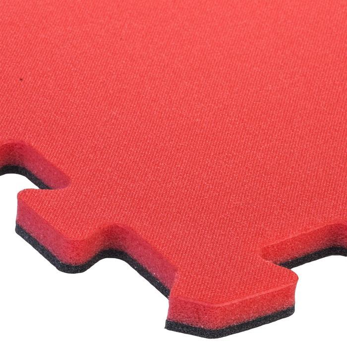 Zachte vloertegel voor peuter- en kleutergym 500 roze