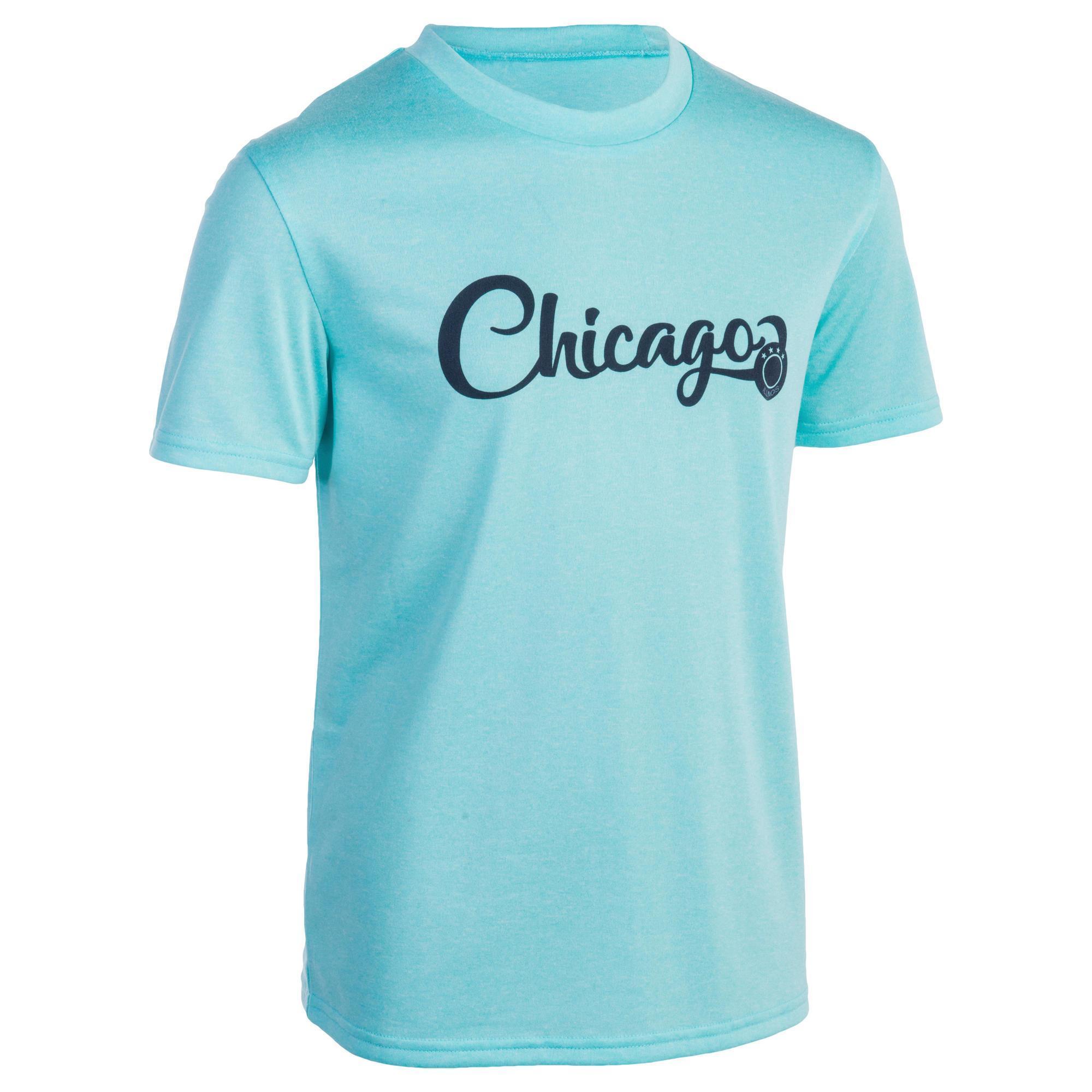 Tarmak Basketbal T-shirt Fast Chicago kinderen kopen met voordeel