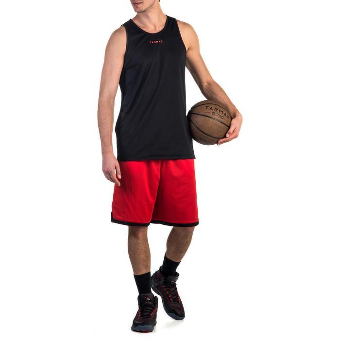 Mens' Intermediate Reversible Basketball Tank Top - White/Blue - 1339157