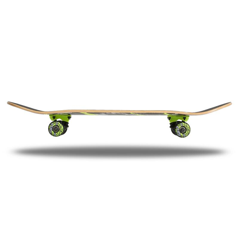 Kids' 8-12 Years Skateboard Mid 500 Wolf - Green