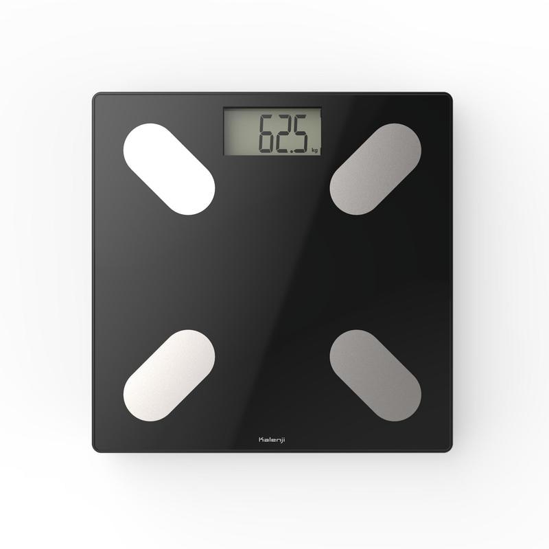 Pesa medidor de calorías Scale 500 cristal