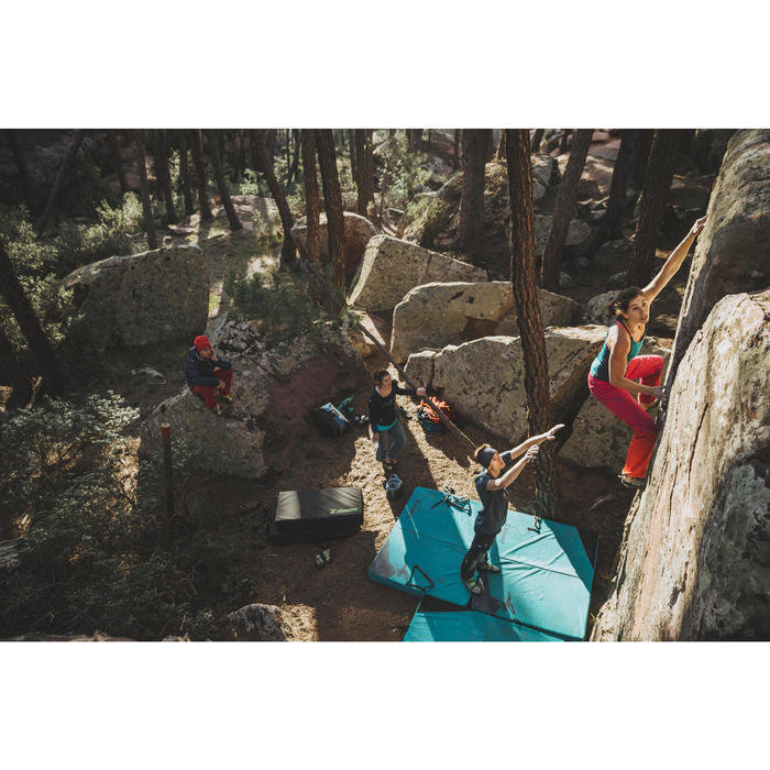 Top Klettern Edge Damen türkis