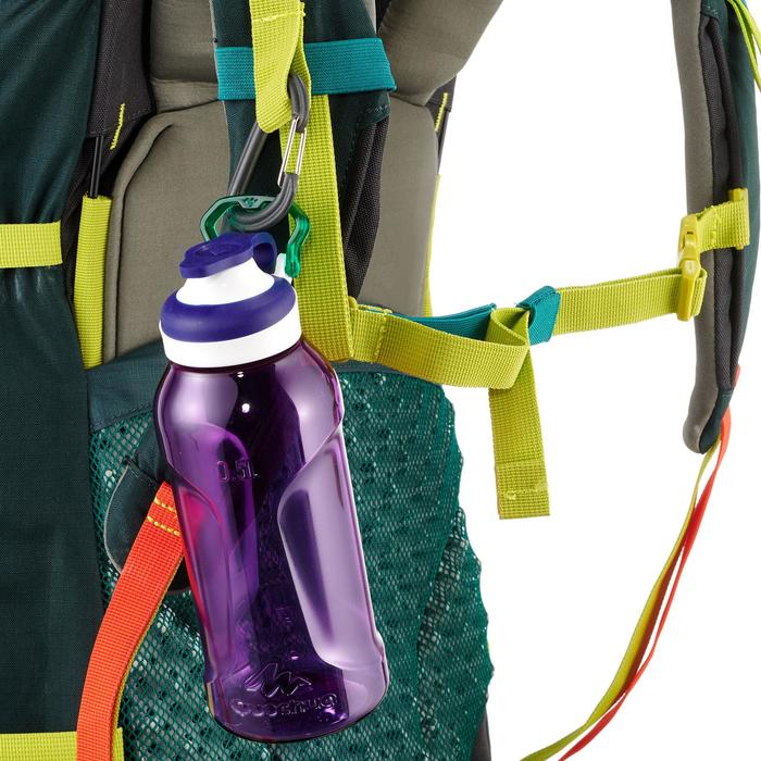 Gourde randonnée 500 bouchon ouverture rapide 0,5 litre plastique Tritan violet