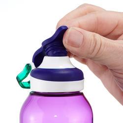 Drinkfles 500 voor wandelen sportdop 0,5 liter Tritan-kunststof paars