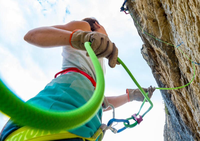 climbing or mountaineering ropes