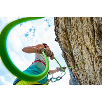 攀岩繩9.5 mm x 70 m-綠色