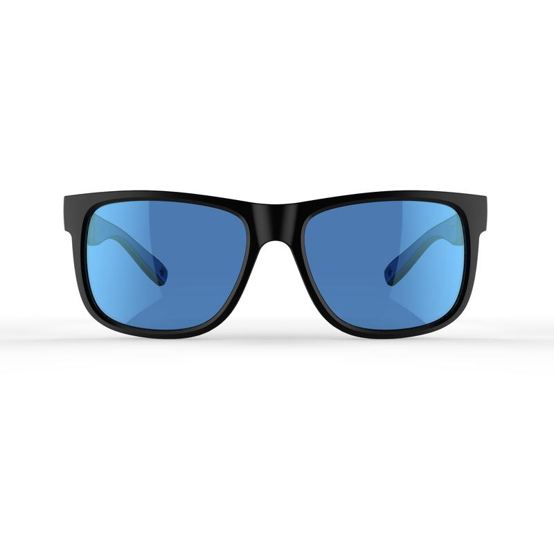Adult's Cat 3 Hiking Sunglasses MH140 - Black And Blue