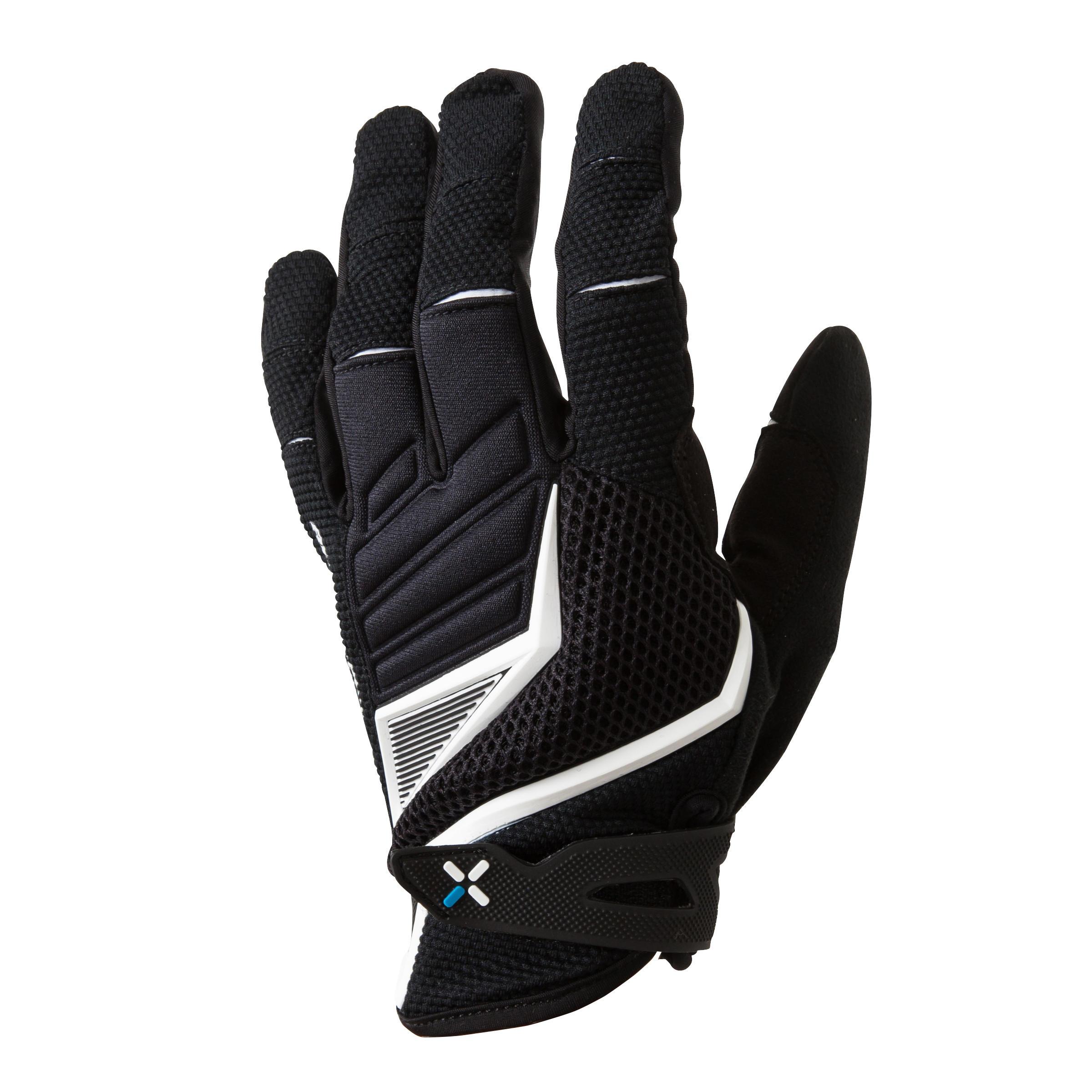 500 AM Mountain Bike Gloves - Black/White