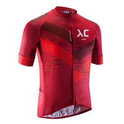 MTB-shirt XC heren rood