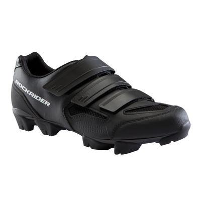 - أسود/أبيض500 حذاء قيادة الدراجة الجبلية