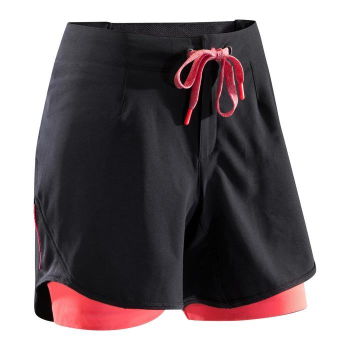 MTB-short ST 500 dames zwart en roze