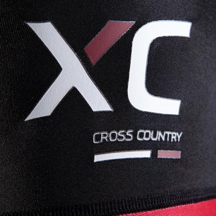 Cuissard VTT XC Homme noir et rouge