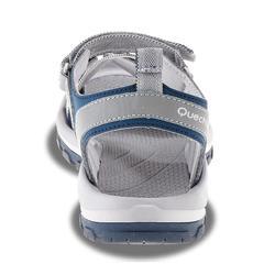 Sandalias de Travesía Arpenaz 100 mujer gris azul