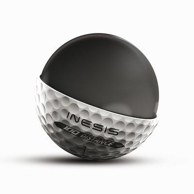 Bolas de golf 100 blancas (lote de 12)