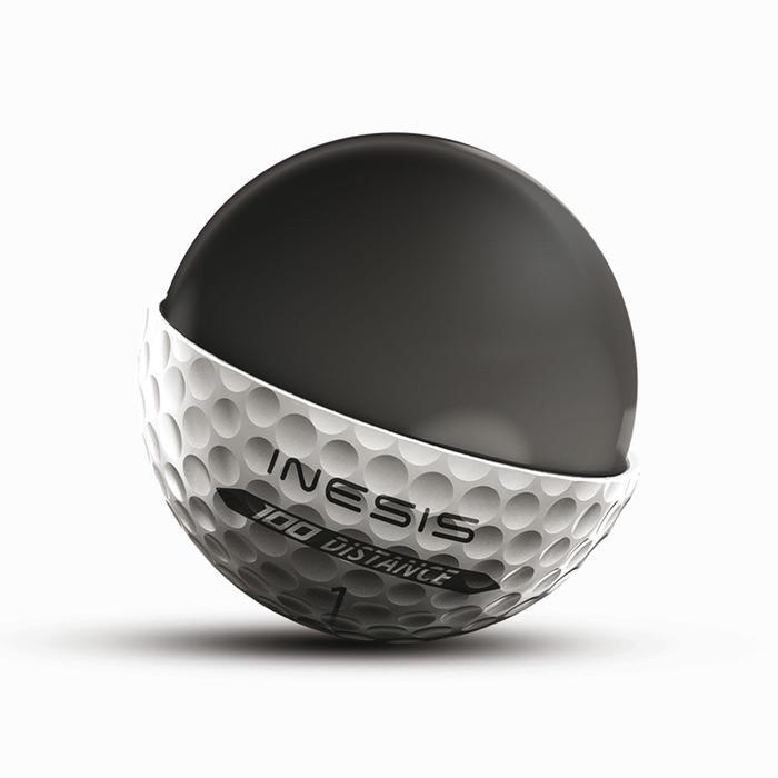 Balle de golf DISTANCE 100 X12 - 1339512