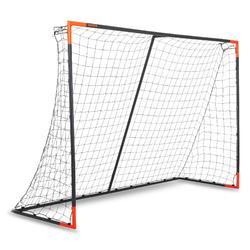 Portería fútbol Classic Goal talla L gris naranja