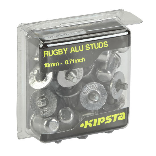 Rugby noppen 13 mm rubber - 133966