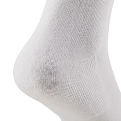 CALCETINES LARGOS ADULTOS RS 100 LOTE 3 PARES BLANCO