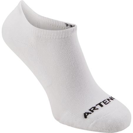 Low Tennis Socks RS 100 Tri-Pack - White