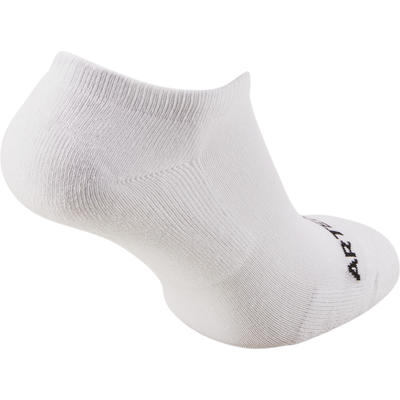 Low Tennis Socks RS 100 Tri-Pack - White