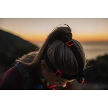 Hoofdlamp voor trail Onnight 410 zwart oranje 160 lumen