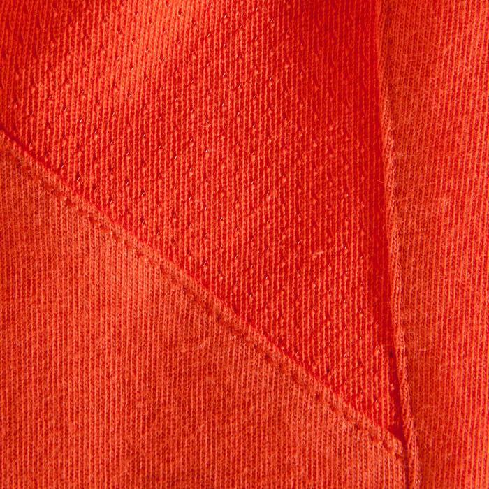Kletter-T-Shirt kurzärmlig Best day ever Kinder rot