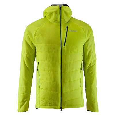 VESTE D'ISOLATION SYNTHÉTIQUE OUATE ALPINISME HOMME Vert Anis