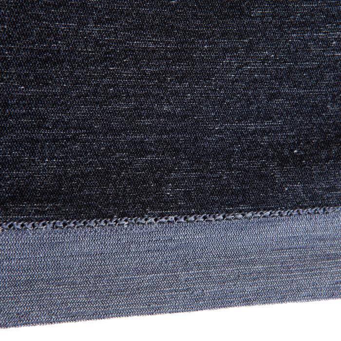 T-Shirt Langarm SEAMLESS Wolle 40% Herren grau