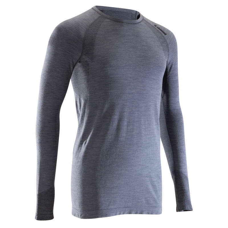 MOUNTAINEERING CLOTHING Mountaineering - SEAMLESS 40% Wool M Grey SIMOND - Mountaineering