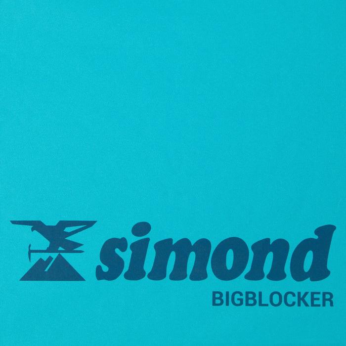CRASHPAD D'ESCALADE BLOC - BIGBLOCKER 1,4M x1,1M TURQUOISE