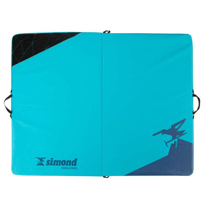 Crash Pad Klettern - Kletter-Crashpad 1,4m × 1,1m SIMOND - Kletterausrüstung