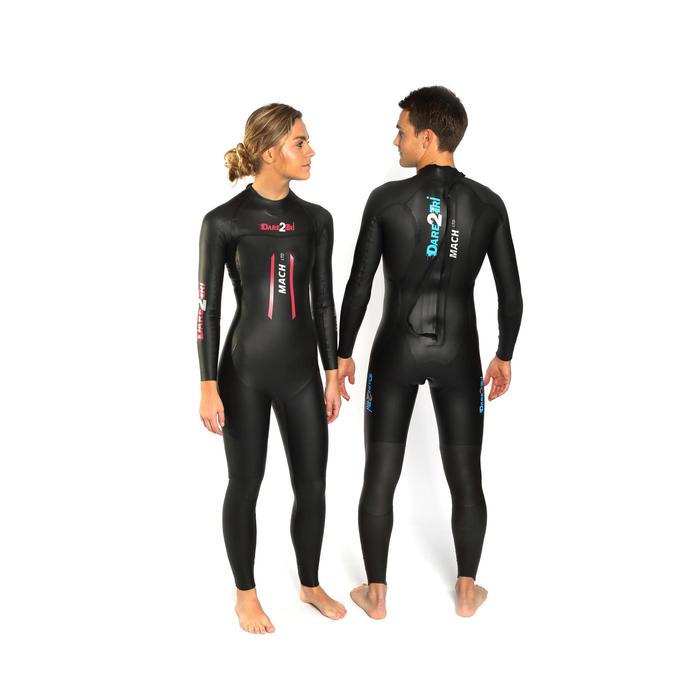 Neopreen wetsuit triatlon Mach LTD heren Dare2Tri