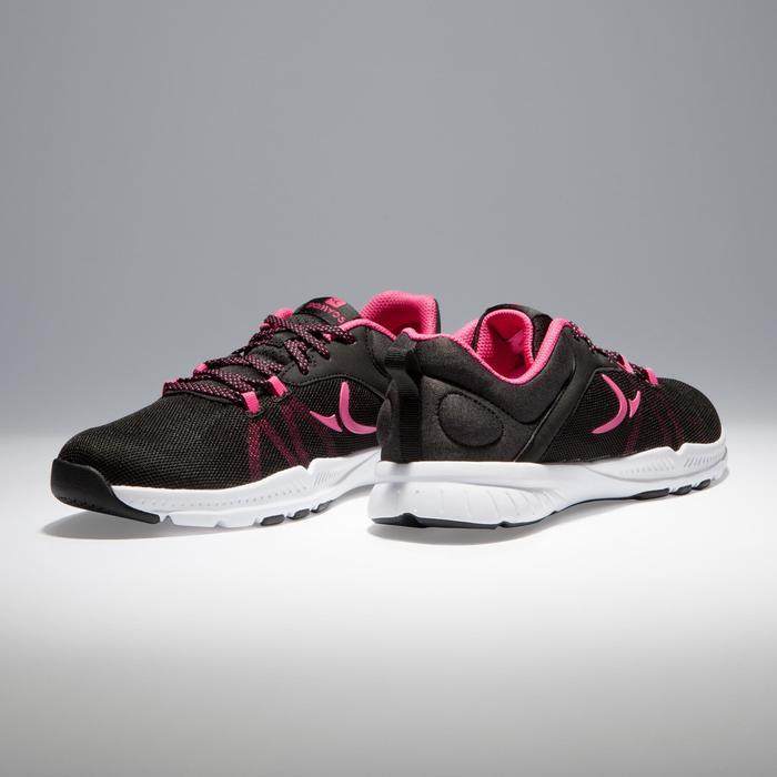 Zapatillas Gym Training Domyos Energy 100 mujer negro rosa