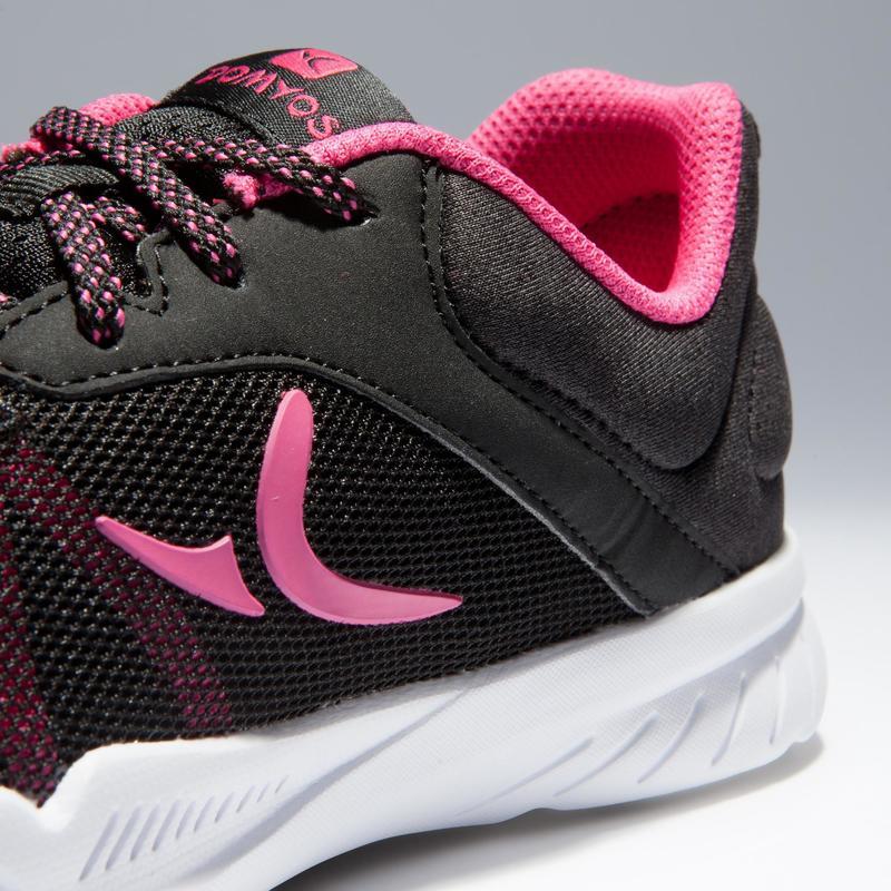 sconto fino al 60% Regno Unito fashion design Scarpe fitness - Scarpe donna cardio fitness 100 nero-rosa