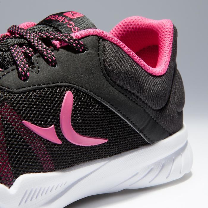 Zapatillas gimnasio Fitness Cardio Domyos Energy 100 mujer negro rosa