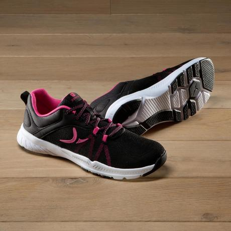 Cardio Training Chaussures Fitness Et Rose 100 Femme Noir eHYD9WE2I
