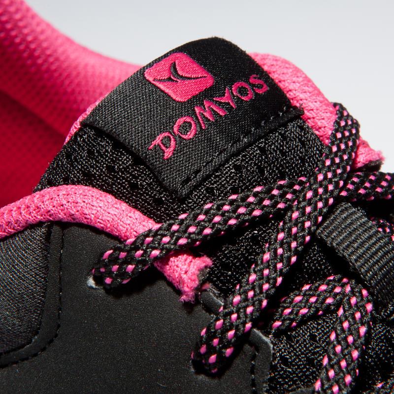 Women's Basic Gym/Cardio Training Fitness Shoes - Black/Pink