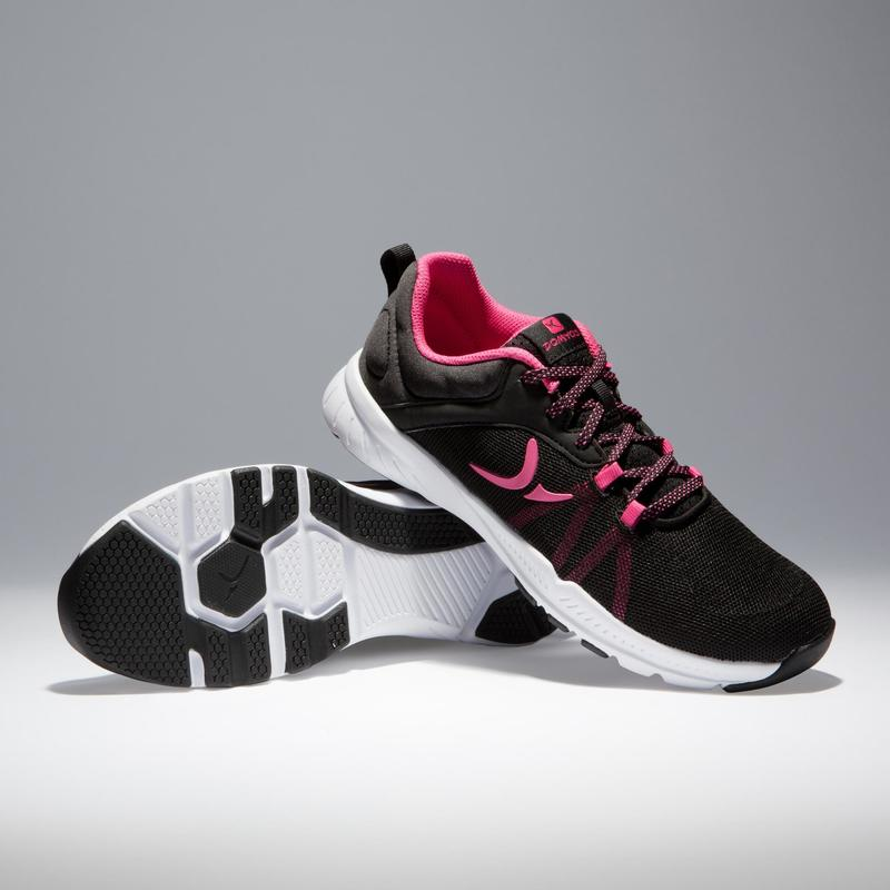 740f322fb7623 100 Women s Cardio Fitness Shoes - Black Pink