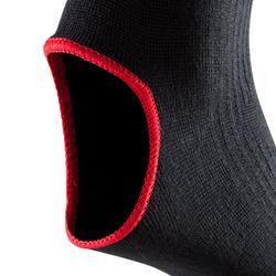 Enkelkous vechtsporten 100 rood/zwart