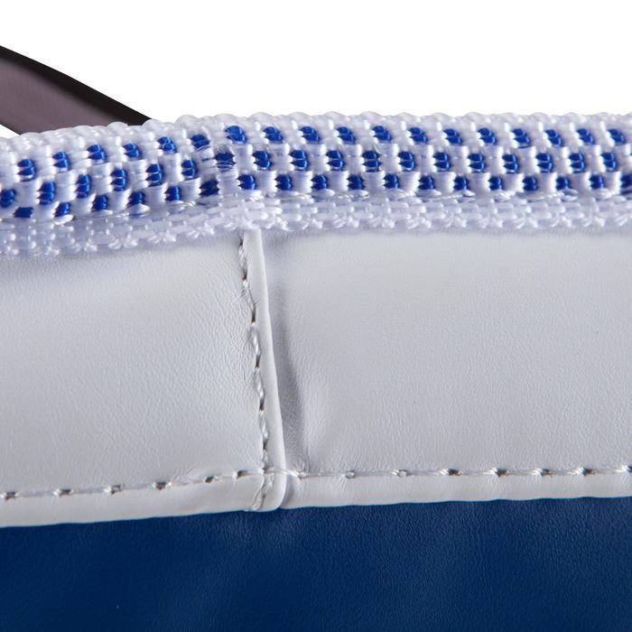 Brustschutz Taekwondo wendbar Erwachsene blau/rot