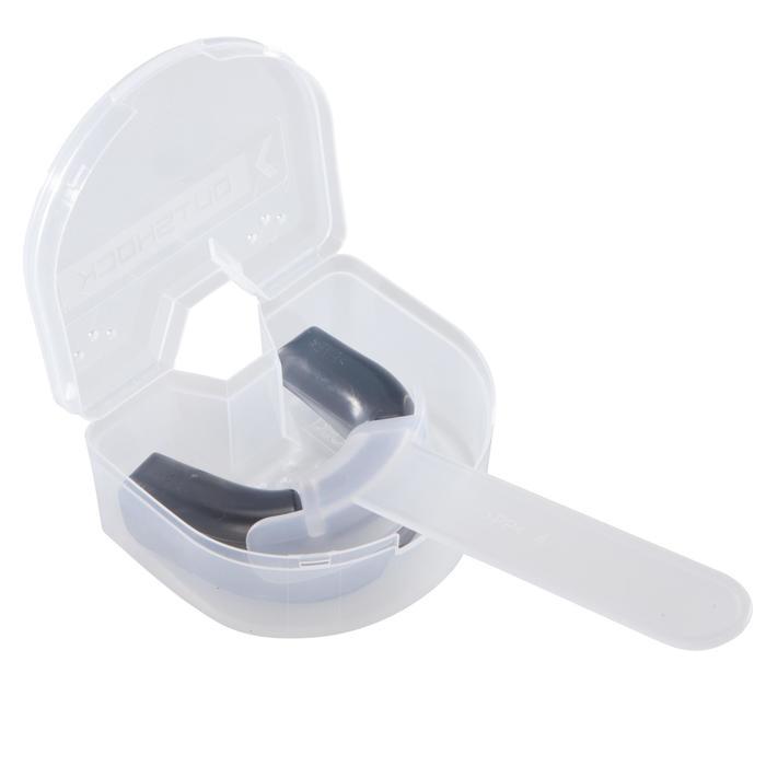 Zahnschutz unisex 100 Erwachsene schwarz transparent