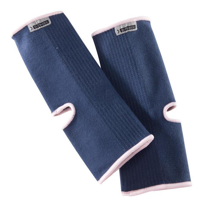 Knöchelbandage Kampfsport 100 blau