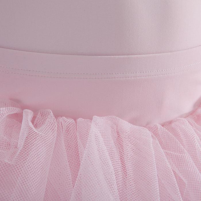 Tutú de plato rosa