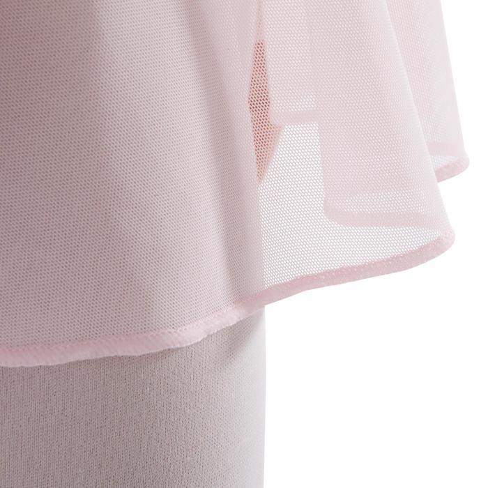 Balletrokje in voile voor meisjes roze - 1340632
