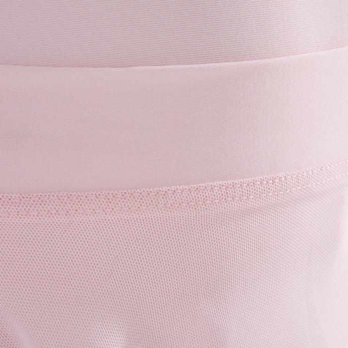 Balletrokje in voile voor meisjes roze