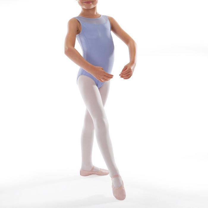 Justaucorps de danse classique bi-matière voile - 1340669