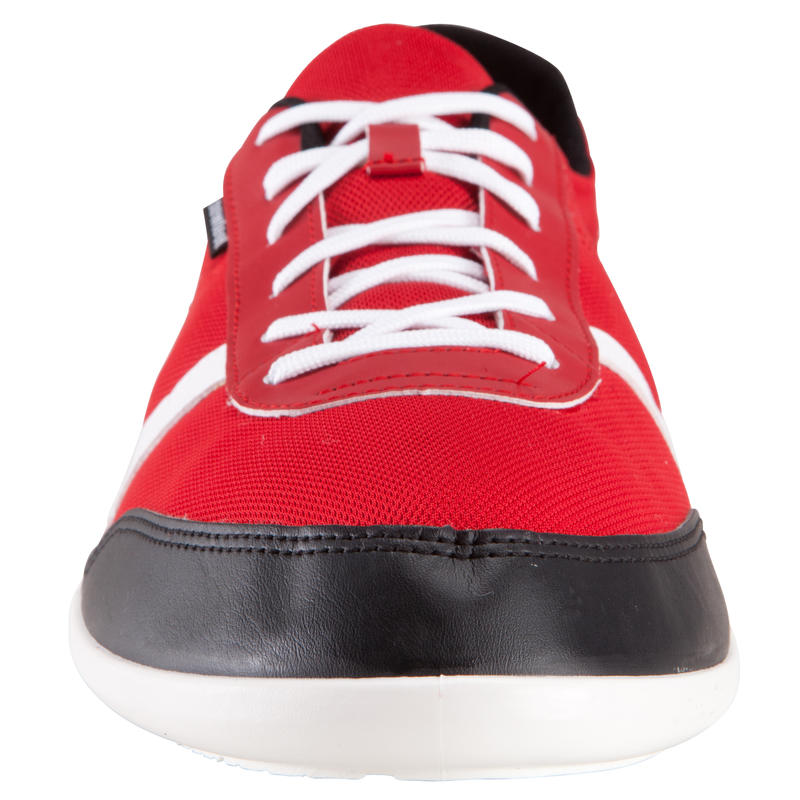 Chaussures marche active Many mesh rouge / blanc / gris