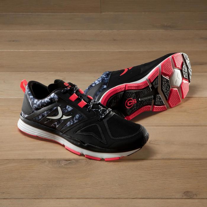 Chaussures fitness cardio 900 femme noir et - 1340885